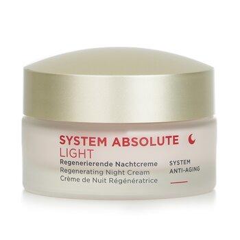 System Absolute System Anti-Aging Regenerating Night Cream Light - For Mature Skin  50ml/1.69oz