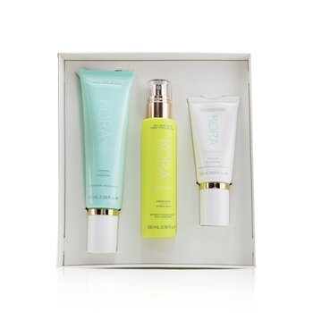 3 Step System - Oily/Combination Skin: Foaming Cleanser 100ml+ Energizing Citrus Mist 100ml+ Purifying Moisturizer 50ml  3pcs