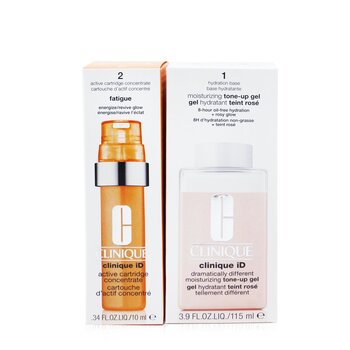 Clinique iD Dramatically Different Tone-Up Gel + Active Cartridge Concentrate For Fatigue  125ml/4.2oz