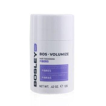 BosleyMD BosVolumize Волокна для Густоты Волос - # Black  12g/0.42oz