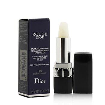 Rouge Dior Floral Care Refillable Lip Balm  3.5g/0.12oz