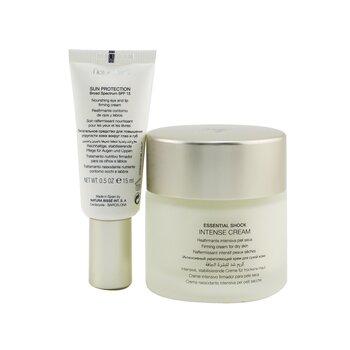 Essential Shock Intense Set: 1x Essential Shock Intense Cream - 75ml + Essential Shock Intense Eye & Lip Cream - 15ml 2pcs