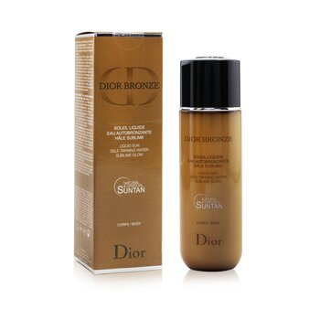 Dior Bronze Liquid Sun Self-Tanning Water Sublime Glow For Body  100ml/3.4oz
