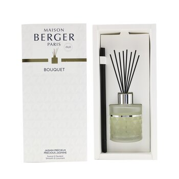 Clarity Frosted Pre-Filled Reed Diffuser - Precious Jasmine  115ml/3.8oz