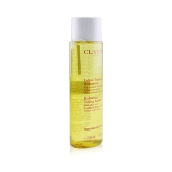 Hydrating Toning Lotion with Aloe Vera & Saffron Flower Extracts - Normal to Dry Skin  200ml/6.7oz