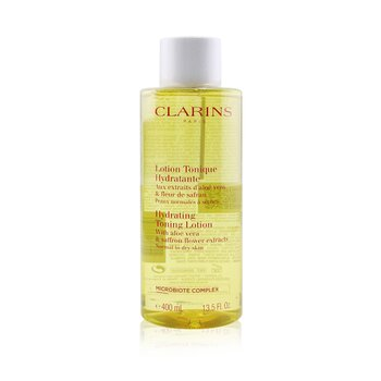 Hydrating Toning Lotion with Aloe Vera & Saffron Flower Extracts - Normal to Dry Skin  400ml/13.5oz