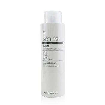 Cosmeceutique GL Glysalac Skin Preparer Micro-Exfoliating Cleansing Gel - With Glycolic Acid & Salicylic Acid (Salon Size)  400ml/13.5oz