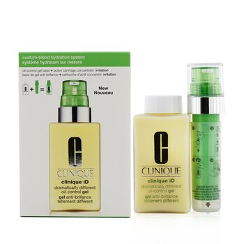 Clinique iD Dramatically Different Oil-Control Gel + Active Cartridge Concentrate For Irritation  125ml/4.2oz