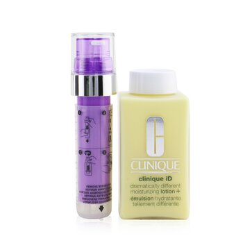 Clinique iD Dramatically Different Moisturizing Lotion+ + Active Cartridge Concentrate For Lines & Wrinkles (Purple)  125ml/4.2oz