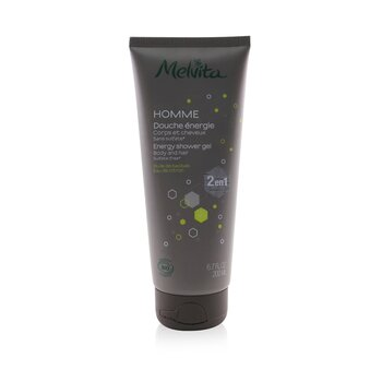 Homme Energy Shower Gel - Body & Hair (Sulfate-Free)  200ml/6.7oz