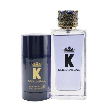K Coffret: Eau De Toilette Spray 100ml/3.3oz + Deodorant Stick 75ml/2.6oz  2pcs