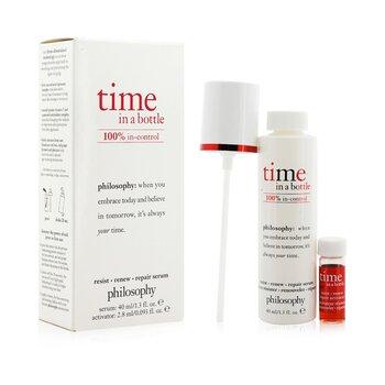 Time In A Bottle 100% In-Control Resist, Renew, Repair Serum  2pcs