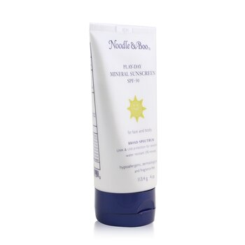 Play-Day Mineral Sunscreen SPF-30 - For Face & Body  113.4g/4oz