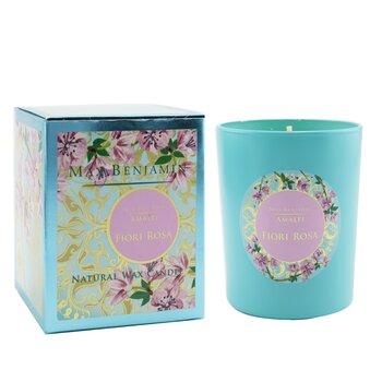 Amalfi Candle - Fiori Rosa  190g/6.5oz