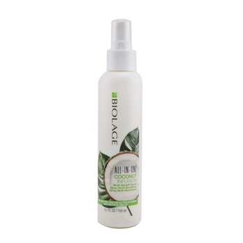 Biolage All-In-One Coconut Infusion Multi-Benefit Treatment Spray (For All Hair Types)  150ml/5.1oz