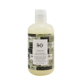 Cassette Curl Shampoo + Superseed Oil Complex  241ml/8.5oz
