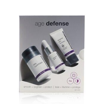 Age Defense Kit: Daily Superfoliant 13g+ Biolumin-C Serum 10ml+ Dynamic Skin Recovery SPF 50 12ml 3pcs