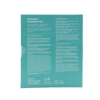 Intensive Moisture Trio: Intensive Moisture Cleanser 30ml+ Phyto Replenish Oil 4ml+ Intensive Moisture Balance 15ml  3pcs