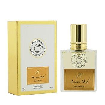 Incense Oud Eau De Parfum Spray 30ml/1oz