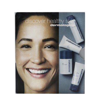 Discover Healthy Skin Kit: Precleanse 30ml+ Special Cleansing Gel 15ml+ Daily Microfoliant 13g+ Skin Smoothing Cream 15ml  4pcs