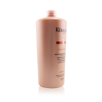 Discipline Bain Fluidealiste Smooth-In-Motion Gentle Shampoo (For Unruly, Over-Processed Hair)  1000ml/3.4oz