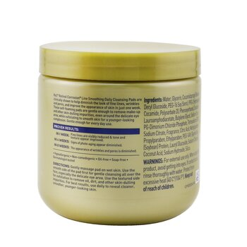 Retinol Correxion Line Smoothing Daily Cleansing Pads  28count