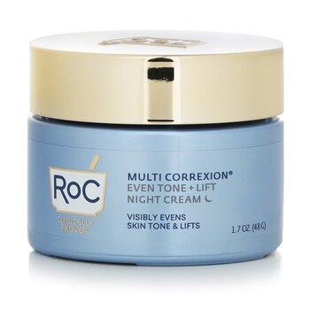 Multi Correxion Even Tone + Lift - 5 In 1 Night Cream  48g/1.7oz