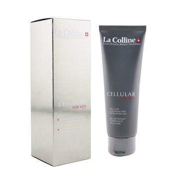 Cellular For Men Cellular Cleansing & Exfoliating Gel  125ml/4.2oz