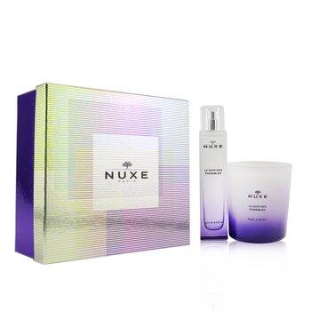 Le Soir Des Possibles Coffret: Eau De Parfum Spray 50ml/1.6oz + Scented Candle 140g/4.9oz  2pcs