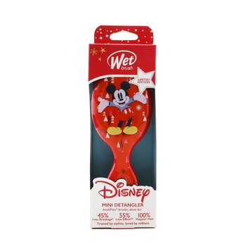 Mini Detangler Disney Classics - # Mickey & Minnie and Trees Red (Limited Edition)  1pc