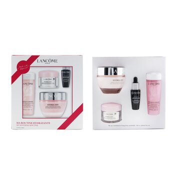 My Soothing Routine Set: Confort Tonique 50ml + Hydra Zen Anti-Stress Moisturizing Cream 15ml + Hydra Zen Anti-Stress Moisturizing Cream 50ml + Genifique Advanced Youth Activating Concentrate 10ml  4pcs