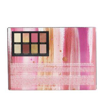 Luxe Metal Rose Eye Shadow Palette (8x Eyeshadow)  8x2g/0.07oz
