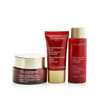 Super Restorative Collection: Day Cream 50ml+ Night Cream 15ml+ Treatment Essence 50ml+ Pouch  3pcs+1pouch