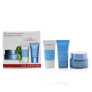 My Hydration Essentials Gift Set: Hydra-Essentiel Silky Cream 50ml+ Fresh Scrub 15ml+ SOS Hydra Mask 15ml  3pcs
