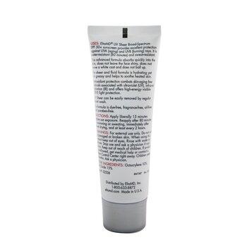 UV Sheer Water-Resistant Facial Sunscreen SPF 50 (Box Slightly Damaged)  50ml/1.7oz