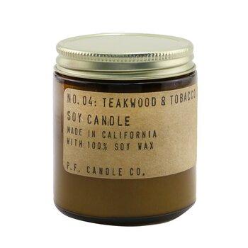 Candle - Teakwood & Tobacco 99g/3.5oz
