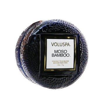 Macaron Candle - Moso Bamboo  51g/1.8oz