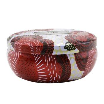 3 Wick Decorative Tin Candle - Spiced Goji Tarocco Orange  340g/12oz