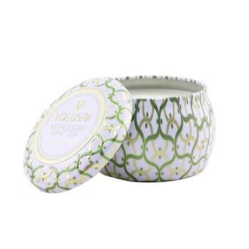 Mini Tin Candle - Moroccan Mint Tea  113g/4oz