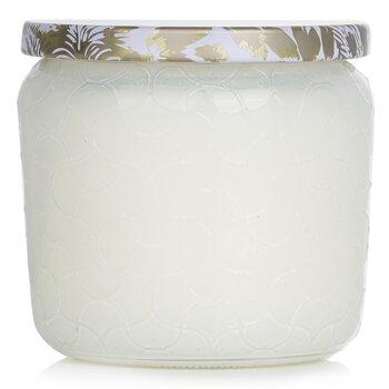 Petite Jar Candle - Suede Blanc  127g/4.5oz