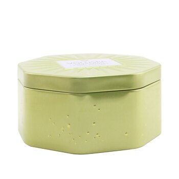 3 Wick Octagon Tin Candle - Peruvian Lime Jardin  340g/12oz