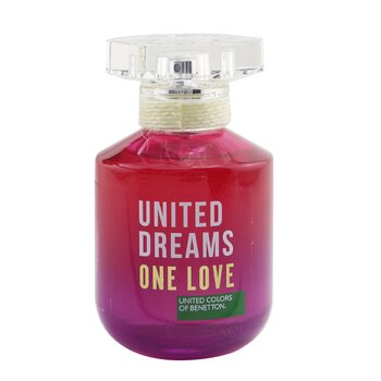 United Dreams One Love Eau De Toilette Spray (2019 Edition)  80ml/2.7oz
