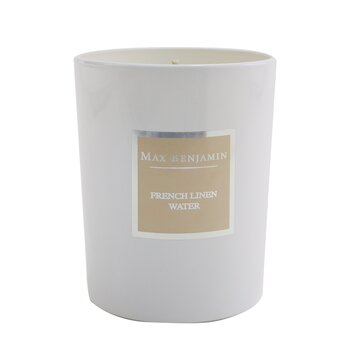 Candle - French Linen Water  190g/6.5oz