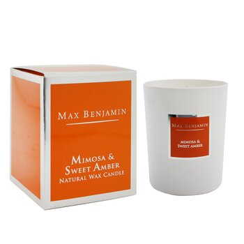 Candle - Mimosa & Sweet Amber  190g/6.5oz