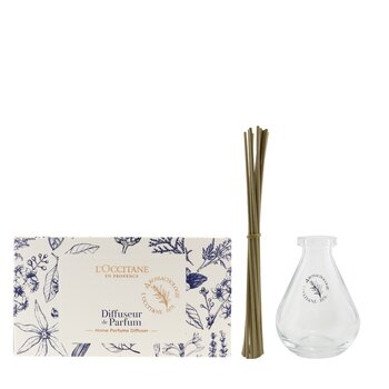Home Perfume Diffuser - Droplet Shape (Glass Bottle & Reeds)  1pc