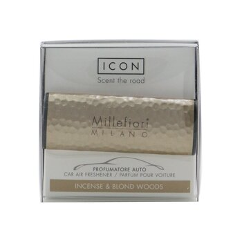 Icon Metal Shades Car Air Freshener - Incense & Blond Woods  1pc