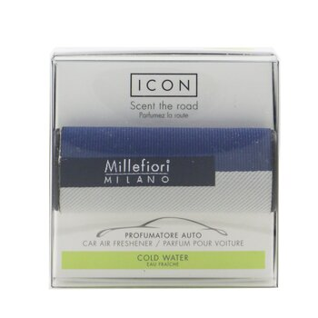 Icon Textile Geometric Car Air Freshener - Cold Water  1pc