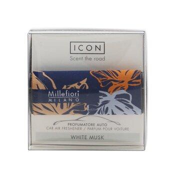 Icon Textile Floral Car Air Freshener - White Musk  1pc