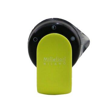 Go Car Air Freshener - Sandalo Bergamotto (Lime Yellow Case)  4g/0.14oz