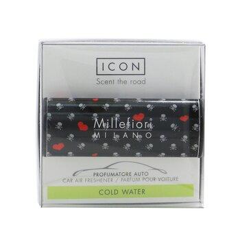 Icon Cuori & Fiori Car Air Freshener - Cold Water  1pc